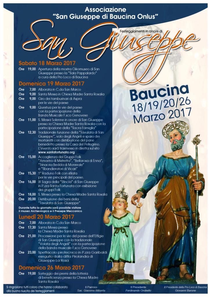 Baucina San Giuseppe 2017