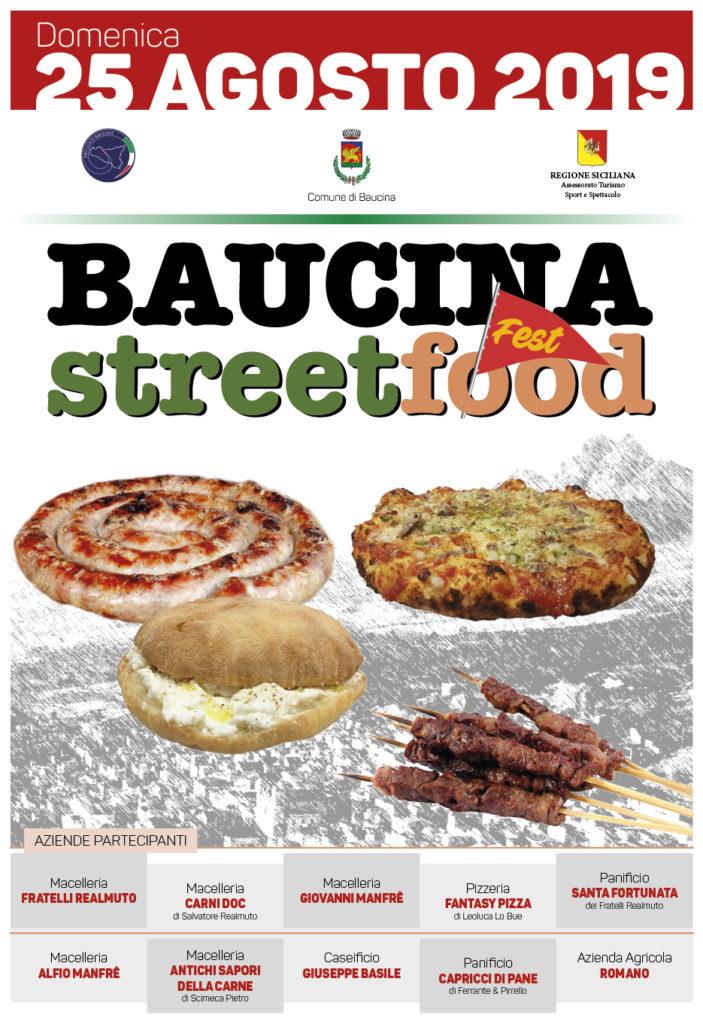 street food fest baucina