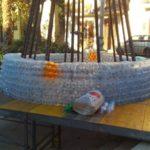 albero di Natale con le bottiglie, albero di natale con le bottiglie, albero con le bottiglie, baucina, albero ecologico, albero ecologico baucina, albero di natale baucina